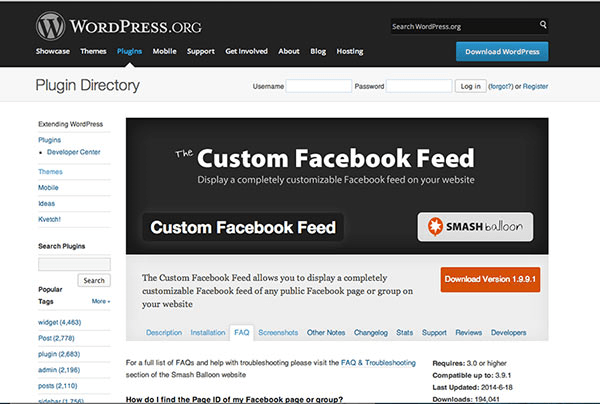 How To Embed Facebook Feed On Website - Outbound net